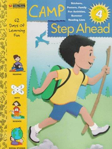 Entering Grade 4 (Camp Step Ahead Workbooks) by Golden Books