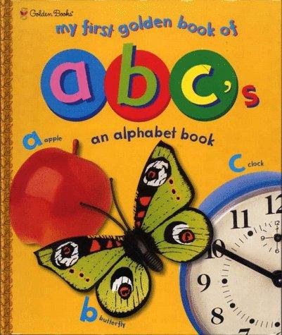 My First Golden Book of ABC's by Golden Books