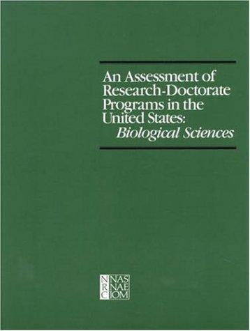 An Assessment of Research-Doctorate Programs in the United States by National Research Council.