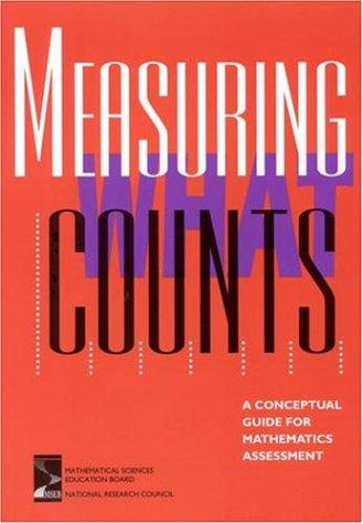 Measuring What Counts by National Research Council.