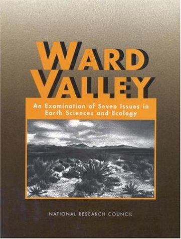 Ward Valley by National Research Council.