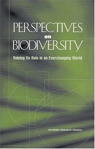 Perspectives on Biodiversity by National Research Council.