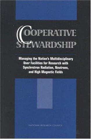 Cooperative Stewardship by National Research Council.