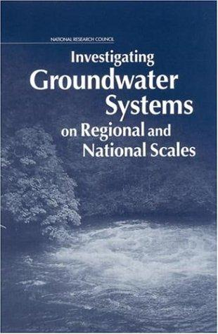 Investigating groundwater systems on regional and national scales by