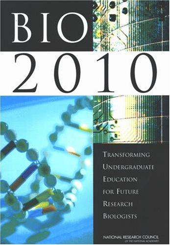 BIO2010 by National Research Council.