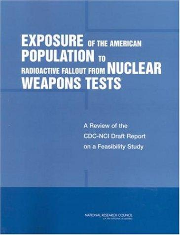 Exposure of the American Population to Radioactive Fallout from Nuclear Weapons Tests by National Research Council.