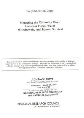Managing the Columbia River by National Research Council.