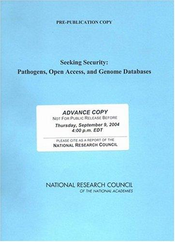 Seeking Security by National Research Council.