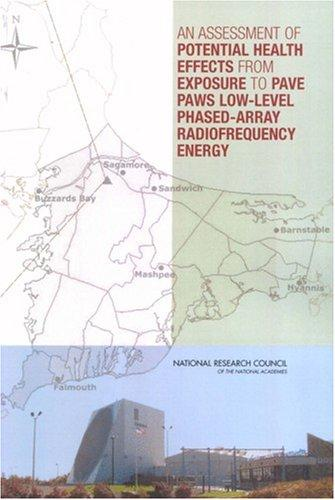 An Assessment of Potential Health Effects from Exposure to PAVE PAWS Low-Level Phased-Array Radiofrequency Energy by National Research Council.