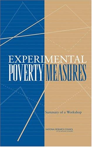 Experimental Poverty Measures by National Research Council.