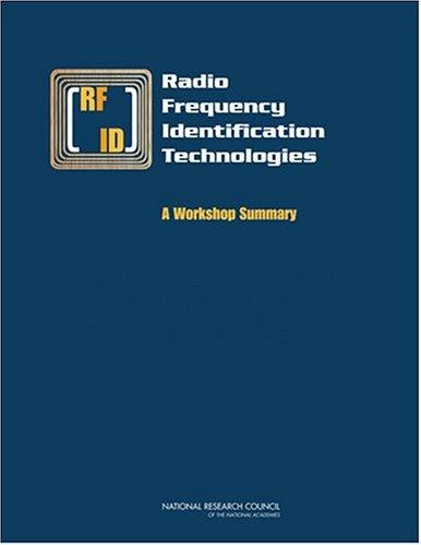 Radio Frequency Identification Technologies by National Research Council.