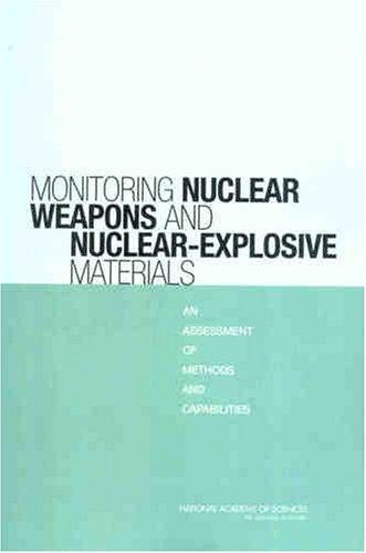 Monitoring Nuclear Weapons and Nuclear-Explosive Materials by National Research Council.
