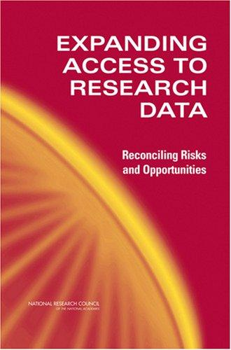Expanding Access to Research Data by National Research Council.