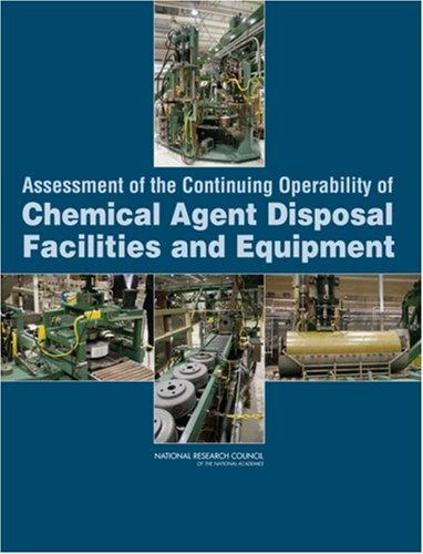 Assessment of the Continuing Operability of Chemical Agent Disposal Facilities and Equipment by National Research Council.