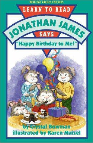"Jonathan James says, ""Happy birthday to me!"" by Crystal Bowman"