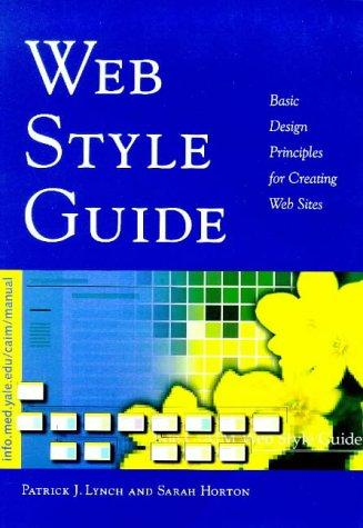 Web style guide by Lynch, Patrick J.