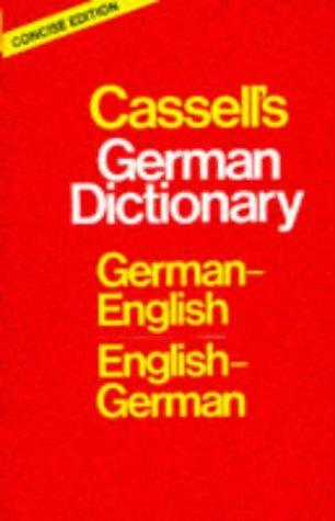 Cassell's German Dictionary by H. C. Sasse