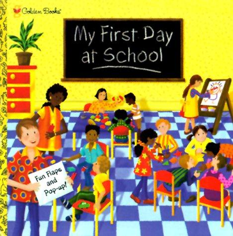 My first day at school / [designed and illustrated by Ruth Wickings ; written by Erin B. Gathrid] by Ruth Wickings