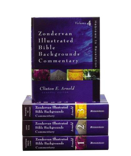 Zondervan Illustrated Bible Backgrounds Commentary Set by