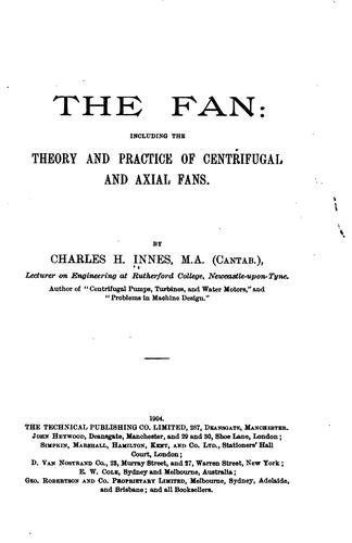The fan by Charles Herbert Innes