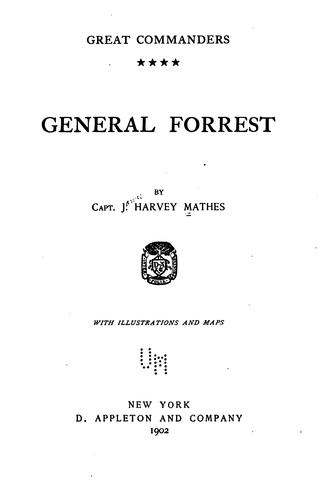 General Forrest by Mathes, James Harvey