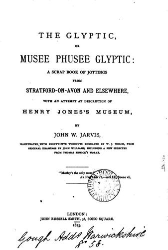 The Glyptic by John William Jarvis