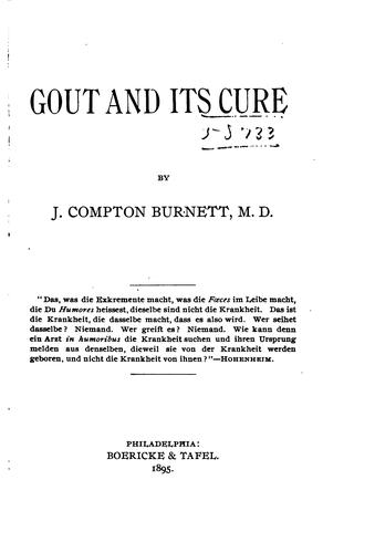 Gout and its cure by James Compton Burnett
