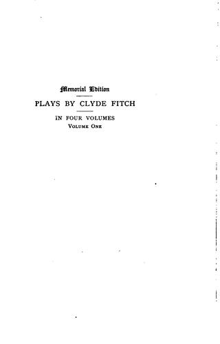 Plays by Clyde Fitch