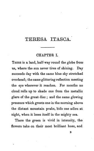 Teresa Itasca, and other stories by Avery MacAlpine
