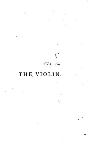 The Violin by Peter Davidson