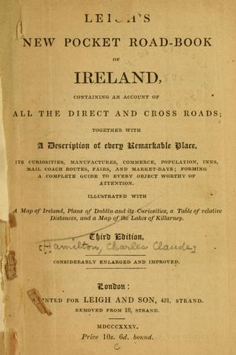 Leigh's new pocket road-book of Ireland by Samuel Leigh