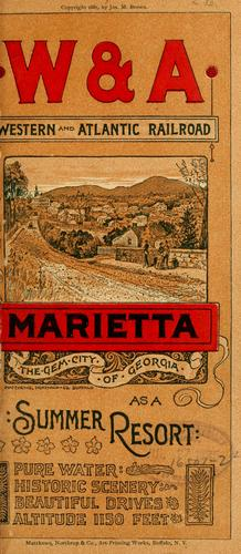 Marietta by Western and Atlantic railroad