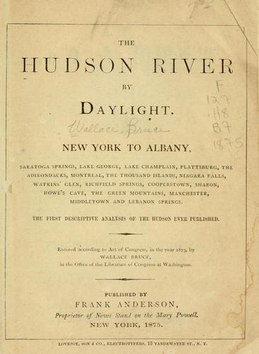 The Hudson River by daylight